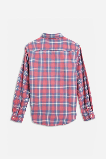 Jazz Check Shirt - Red