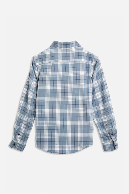 Sky Check Shirt - Blue