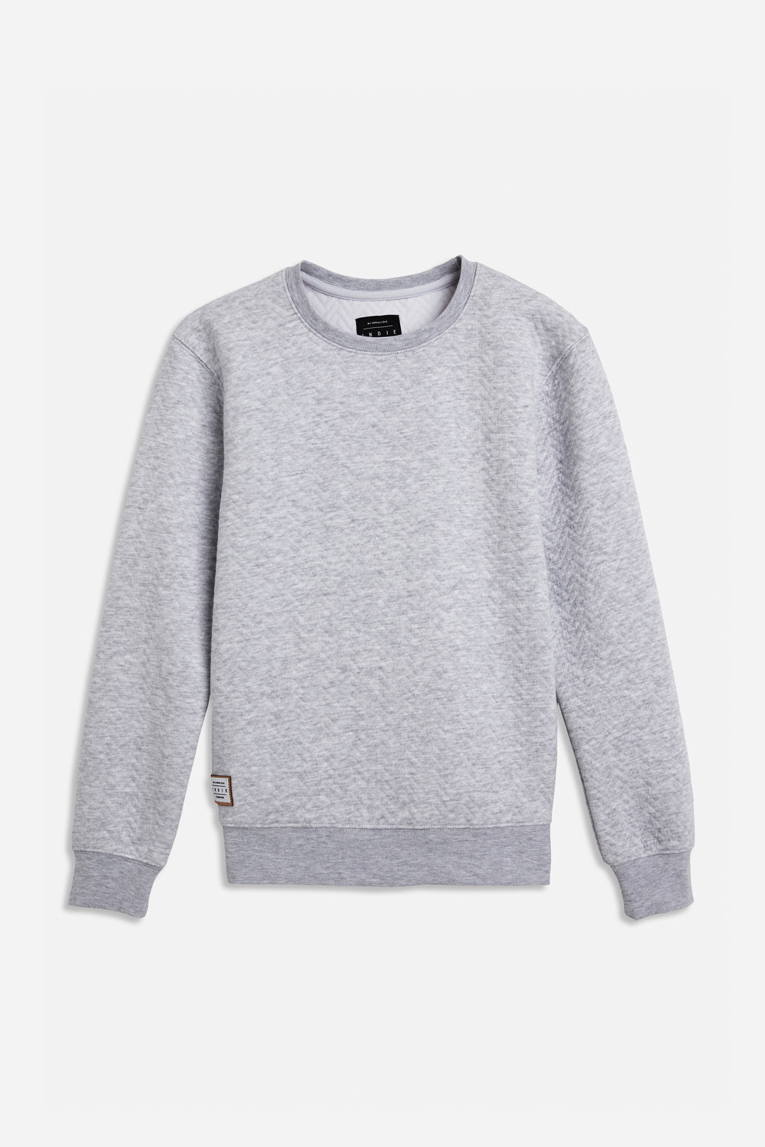 Chevron Sweat - Grey Marle