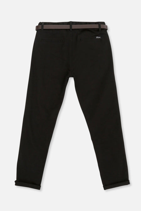 Cuba Stretch Chino - Black