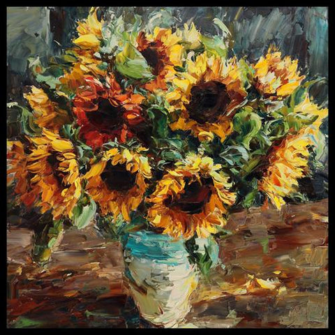 Lyudmila Agrich Original Artwork Oil Palette Knife Paintings in Breckenridge and Vail at Raitman Art Galleries