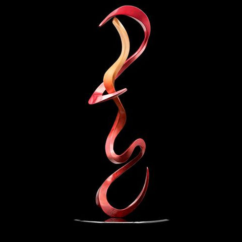 Casey Horn Artistic bronze, stainless steel and aluminum sculptures inspired by calligraphy and ink paintings.