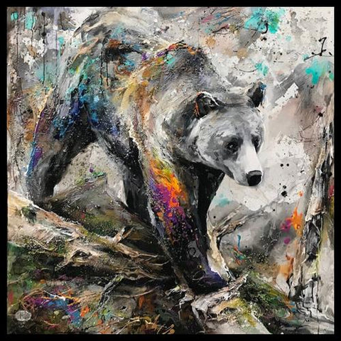 Canadian Artist Miri Rozenvain Original Wildlife Paintings at Raitman Art Galleries Vail and Breckenridge Colorado