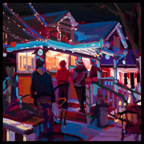 Artist Nick Paciorek Original Fauvist Oil Paintings in Vail and Breckenridge at Raitman Art Galleries