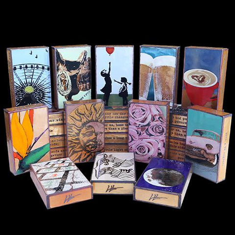 Artist Houston Llew Retired and Rare Spiritiles Available at Raitman Art Galleries Vail and Breckenridge, Colorado