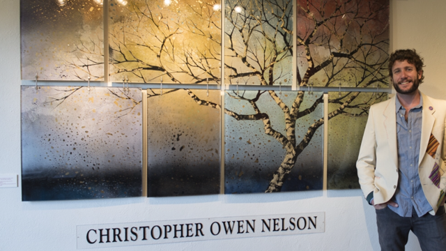 Artist Christopher Owen Nelson