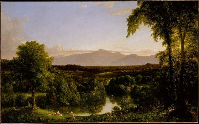 A View of the Mountains Pass Called the Notch of the White Mountains 1839 Thomas Cole