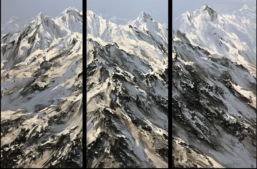 Barak Rozenvain mountain painting