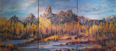 Teton Majesty by Lelija Roy