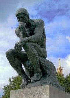 The Thinker 1880 Auguste Rodin