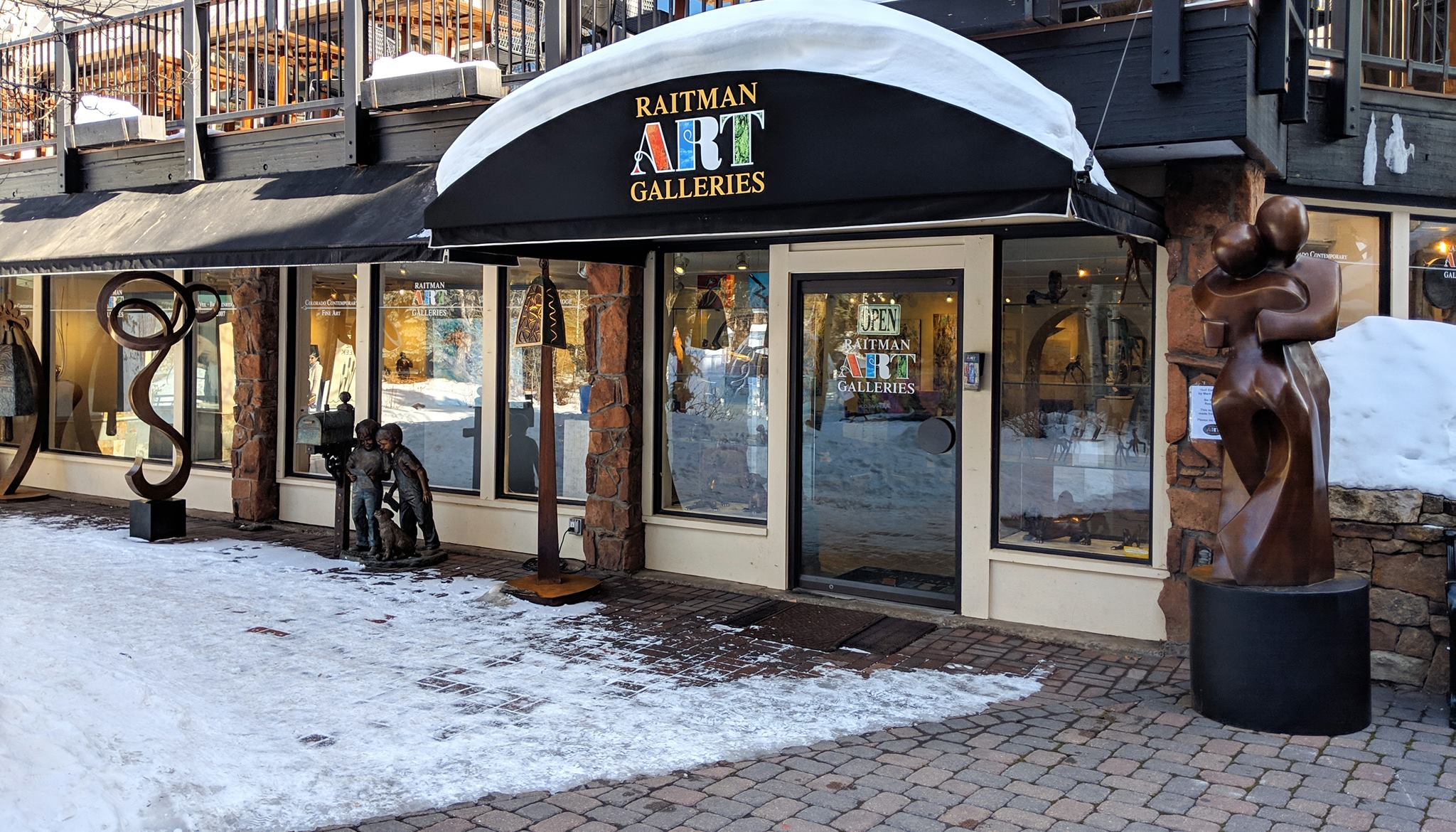 Raitman Art Galleries Vail, Colorado. Featuring Fine Paintings and Sculptures by World Renowned Artists