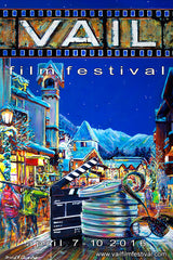 Vail Film Festival Poster by David V. Gonzales