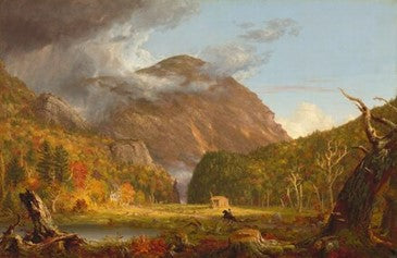 A View of the Mountains Pass Called the Notch of the White Mountains, 1839 Thomas Cole