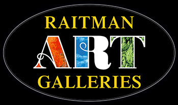 Raitman Art Galleries Logo