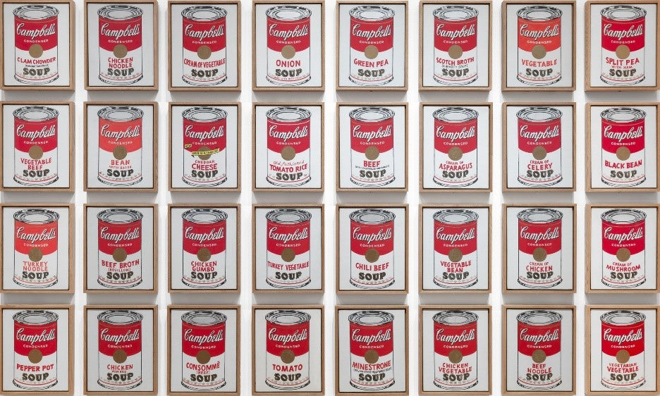Campbells Soup Andy Warhol Painting