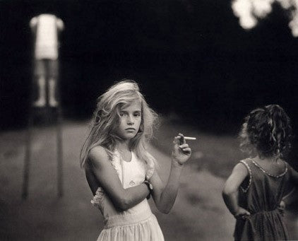 Candy Cigarette, 1989 Sally Mann Raitman Art Gallery