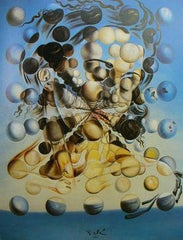 galatea of the spheres 1952 salvador dali painting