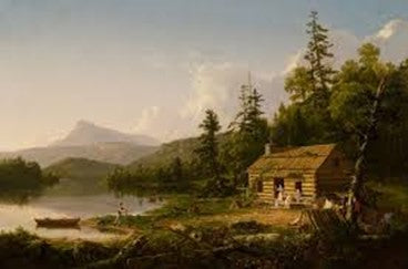 Home in the Woods 1847 Thomas Cole