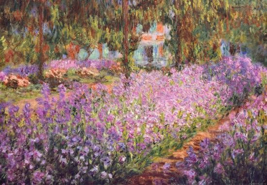 The Artist's Garden at Giverny, 1900 Claude Monet