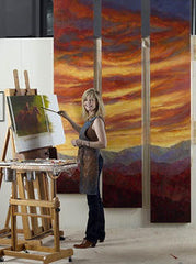Boulder Colorado based artist Judy Greenan