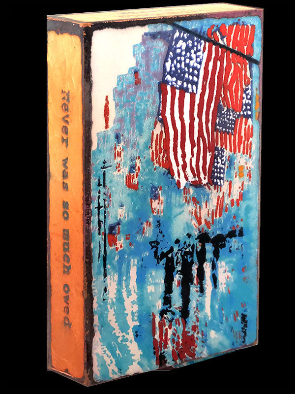 Houston Llew Spiritile 251 American Heroes Entire Spiritiles Collection Available at Raitman Art Galleries