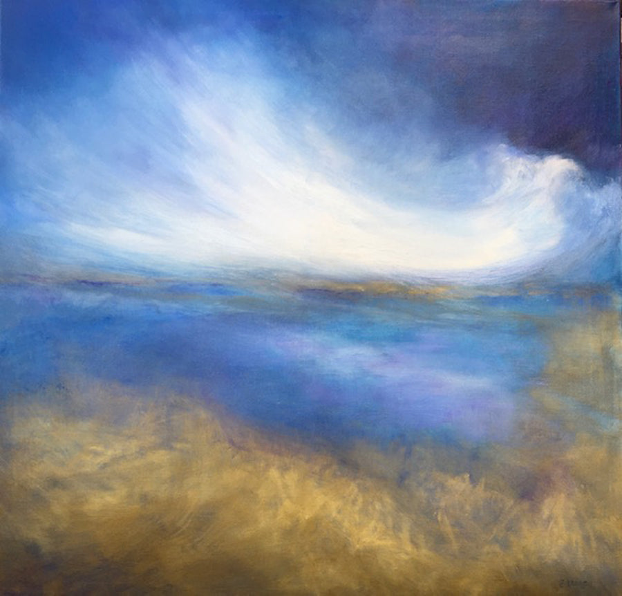 After the Storm abstract judy greenan painting