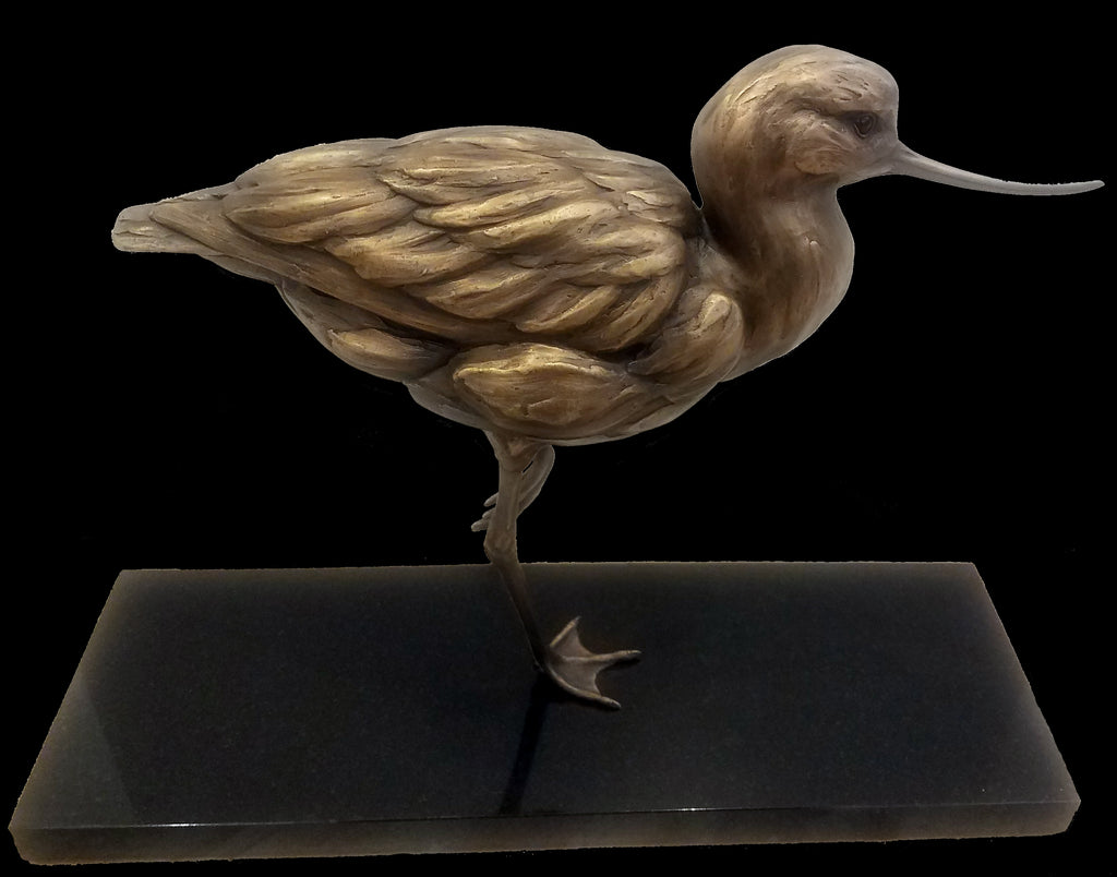 Avocent Realist Bird Sculpture by Gampi Artist Pete Zaluzec