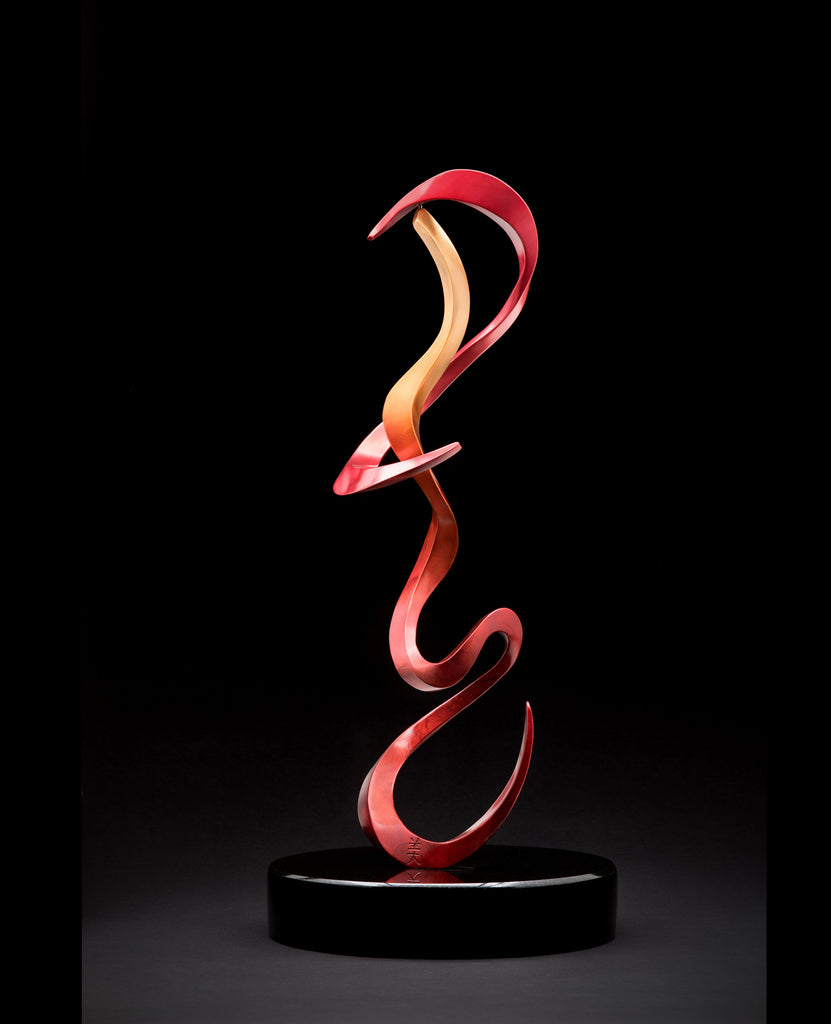 Beauty limited edition bronze sculpture by Colorado artist Casey Horn