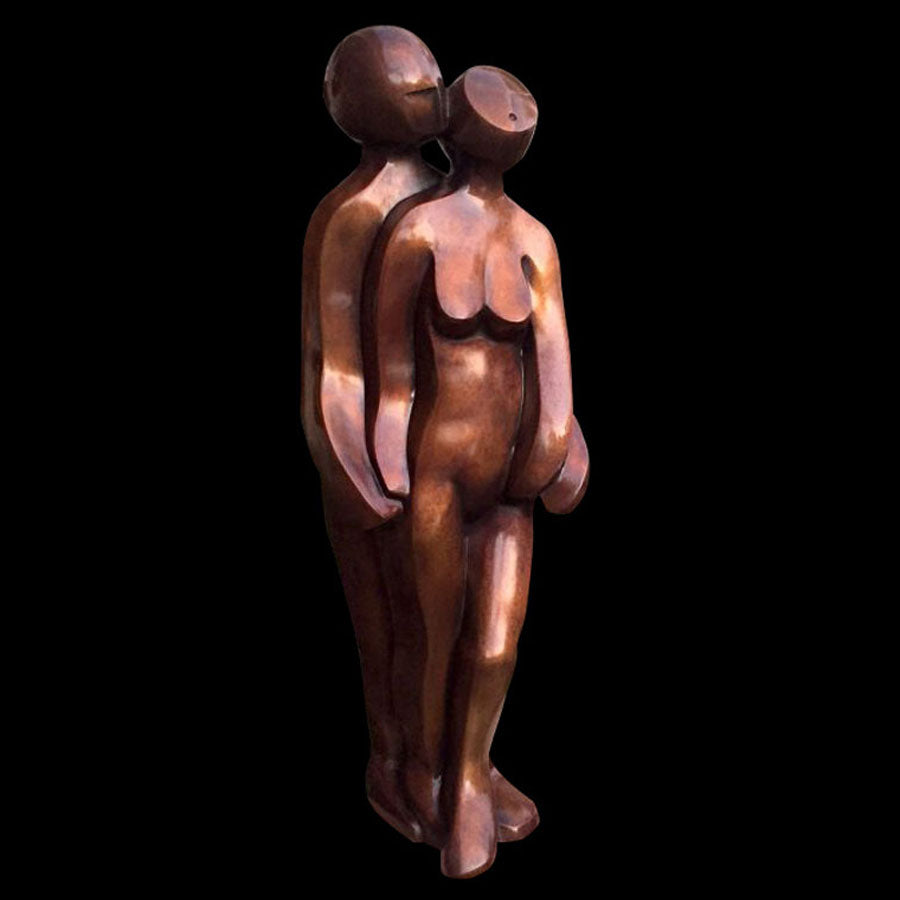 Sweet Whispers bronze sculpture by artist Mark Yale Harris