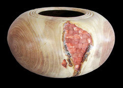 Honey Locust Bowl with Bricks
