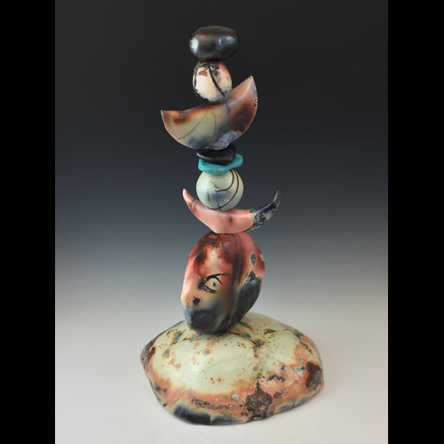 This is a ceramic sculpture made by Colorado Artist Judith Snyder