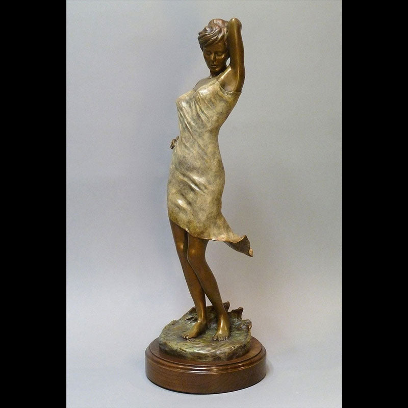 Midnight Breeze bronze sculpture by Colorado artist Scy Caroselli