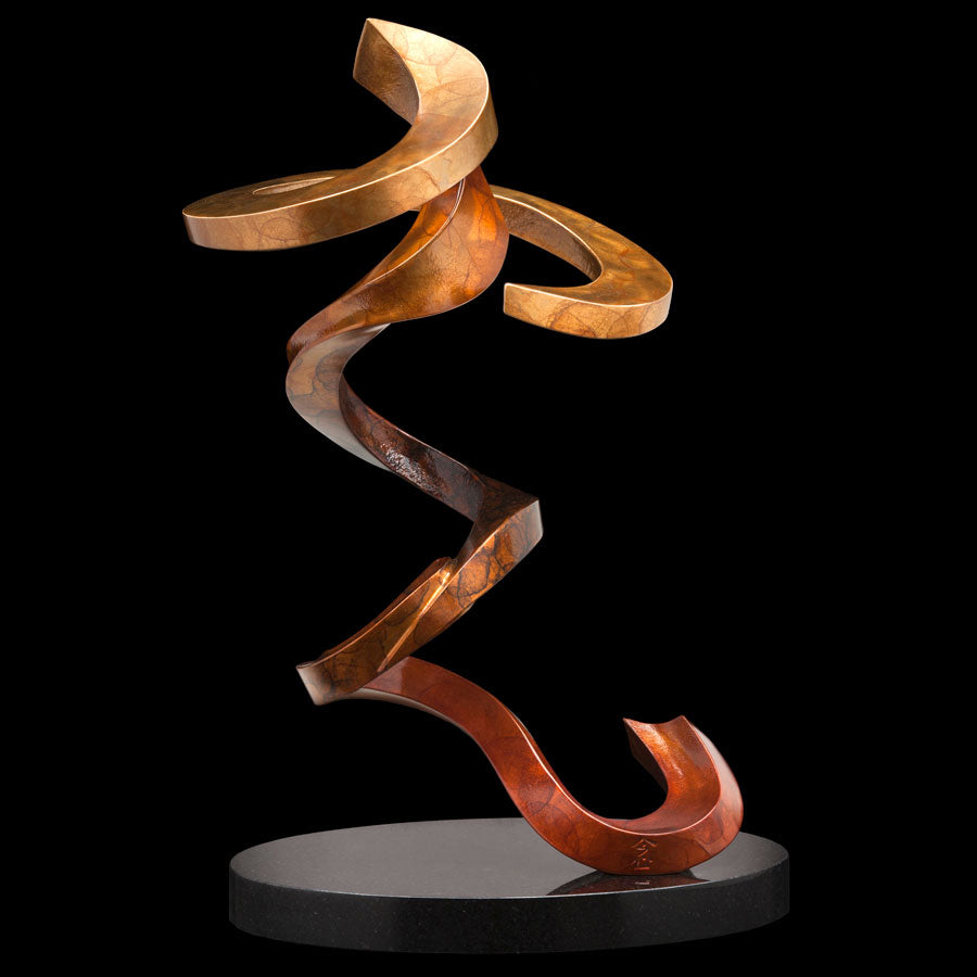 Mindfulness bronze sculpture by Colorado artist Casey Horn