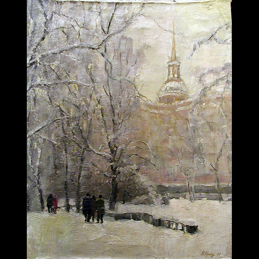 Near Mikhailovsky Castle