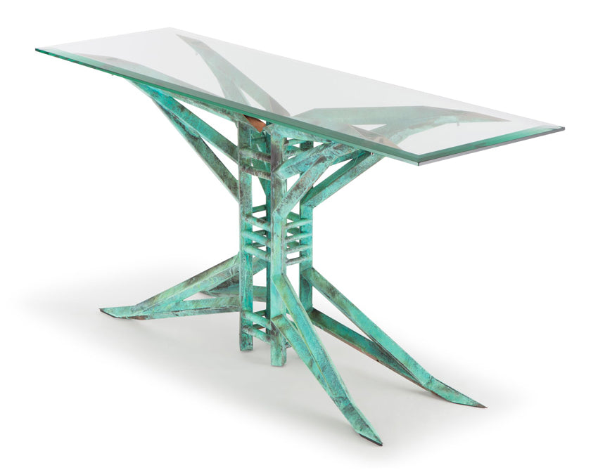 Palermo Glass Table