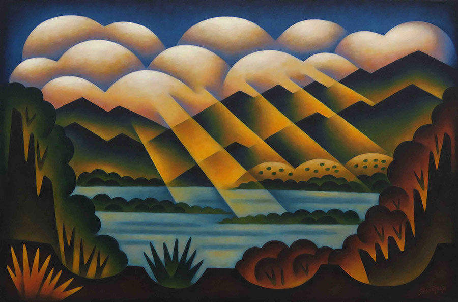 Rays of Hope Sushe Felix painting