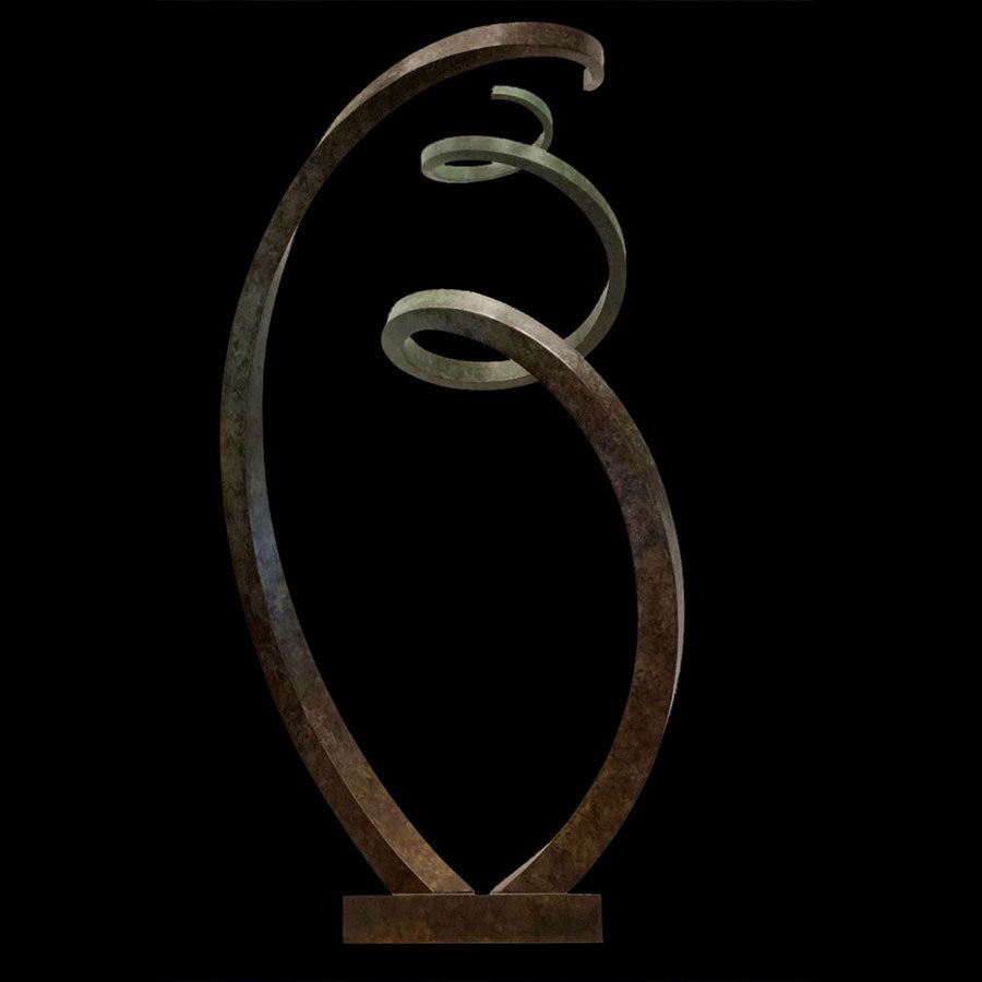 Sharing Space original bronze sculpture by artist Gilberto Romero