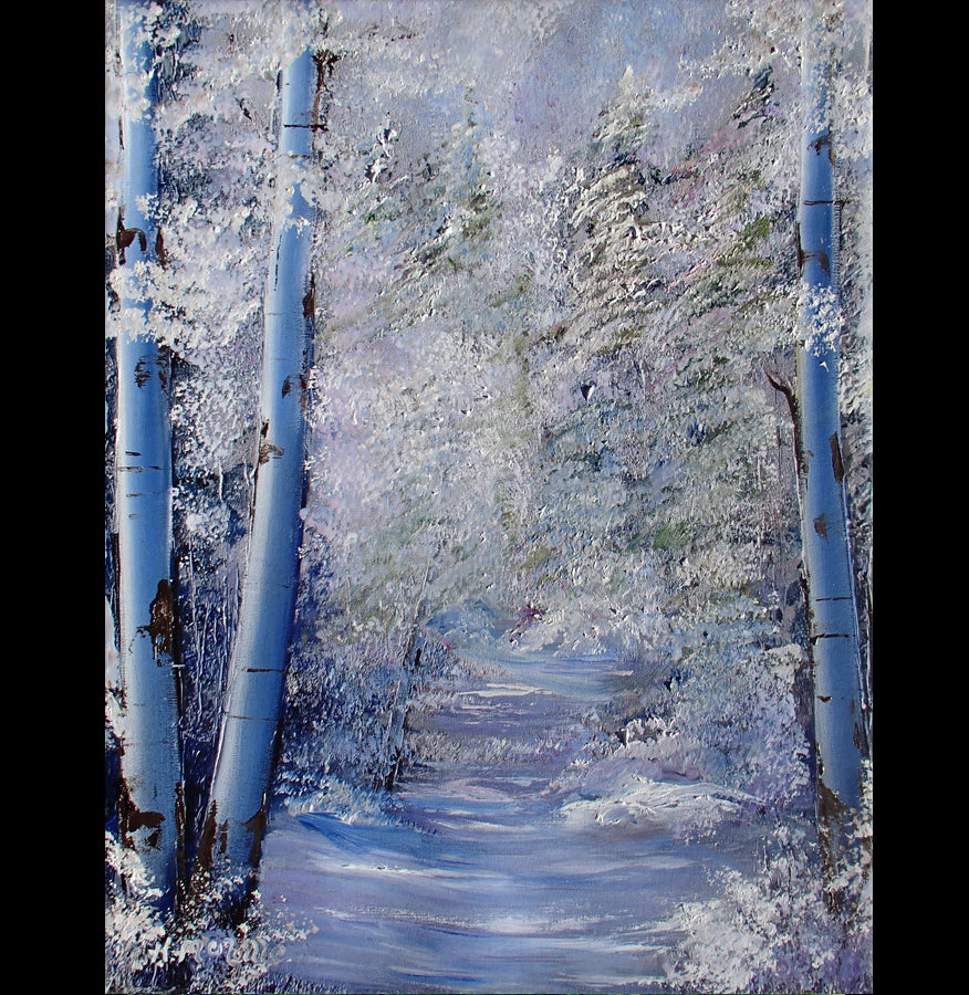 Soul Creek Enhanced Giclee