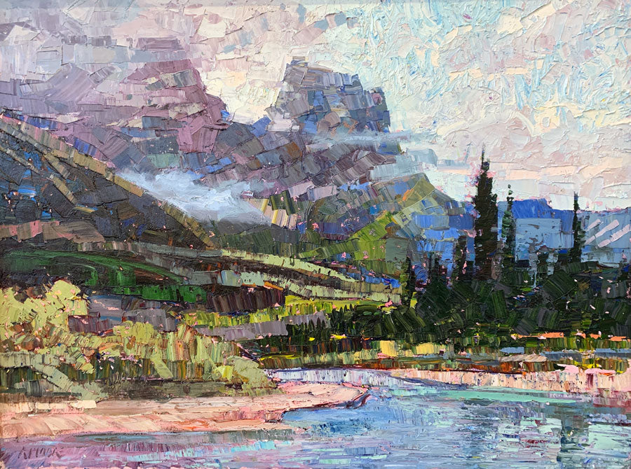 summer in the mountains artist robert moore