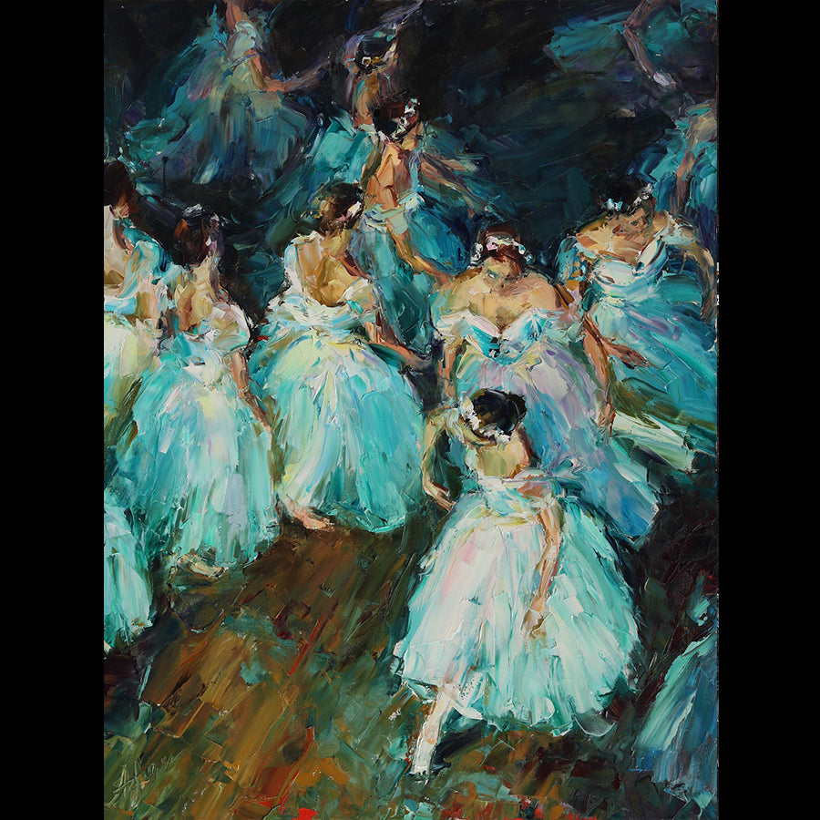 The Magic World of Ballet lyudmila agrich painting