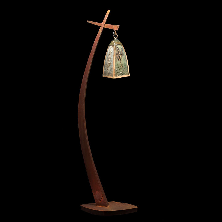 Vail Lantern bronze sculpture by colorado artist james g moore