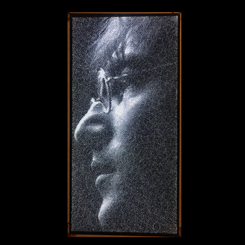 Backlit John Lennon