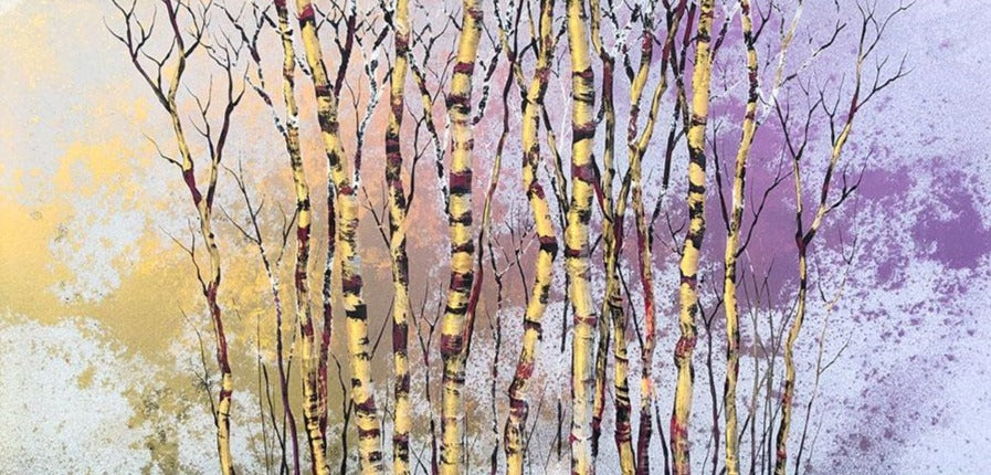 Dream Leaf original tree painting by artist Christopher Owen Nelson