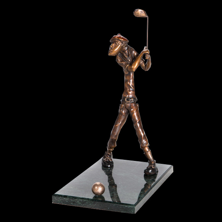 Sculptor Marty Goldstein Golf Sculpture