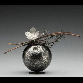 Reverence stainless steel vessel by Colorado artist Casey Horn Sculptor