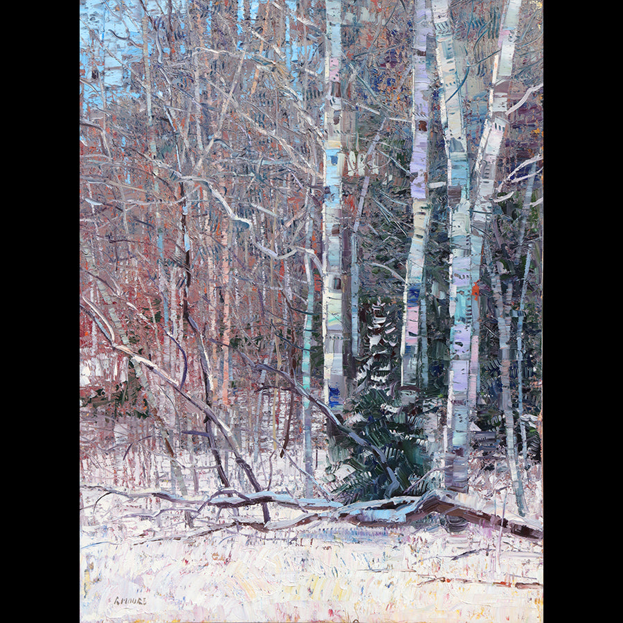 Sound of Silence original oil painitng by robert moore for sale