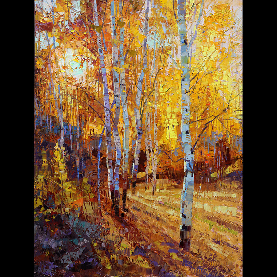 sunlight brilliance original oil painting by robert moore for sale
