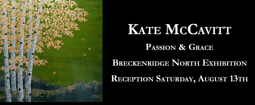 Artists Cynthia Duff and Kate McCavitt New Original Art in Under the Aspens Exhibition
