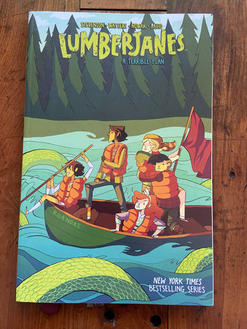Lumberjanes: A Terrible Plan 3