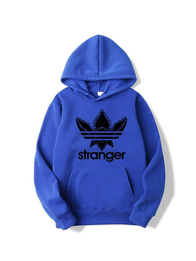 Hip Hop Tops Fashion Stranger Things Hooded Sweatshirt